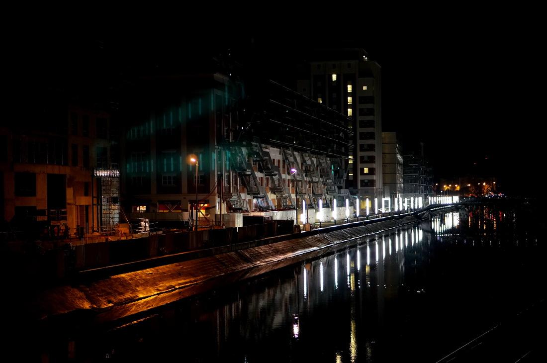 Strasbourg, strasbourg nuit; strasbourg nocturne; jeux de lumière, rivetoile