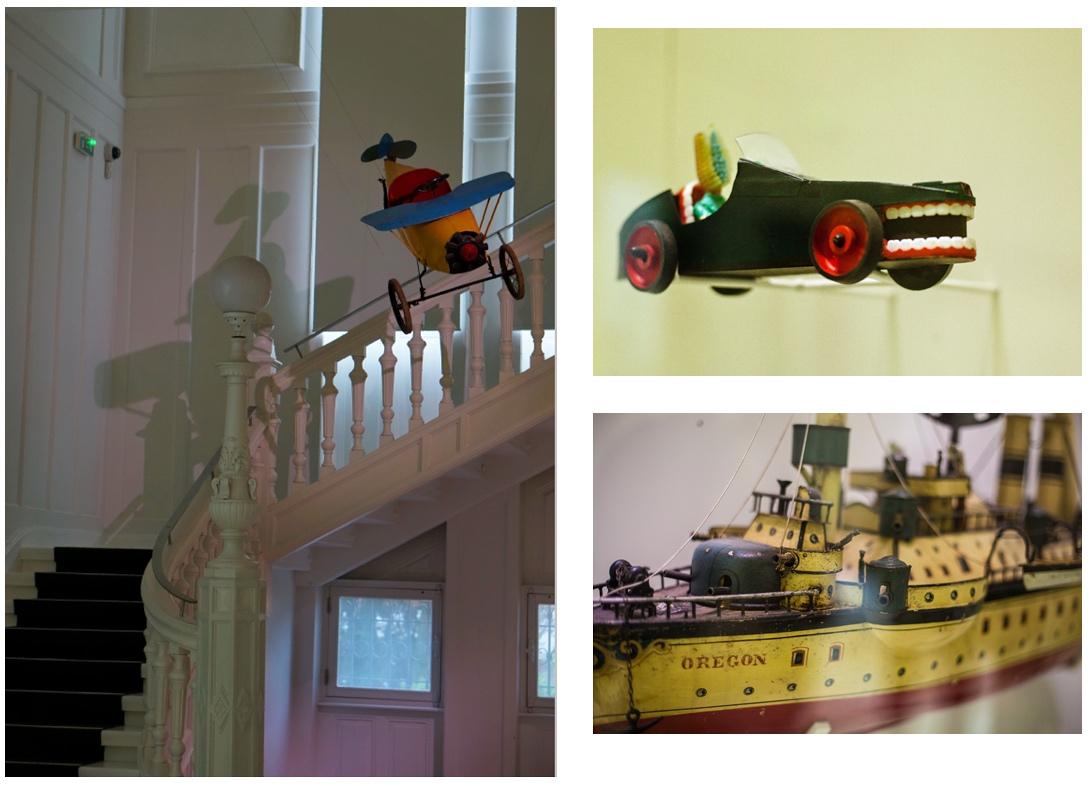 musée tomi ungerer; tomi ungerer; jouets; avion; voiture; brosse à dents; paquebot; bateau; paquebot; strasbourg