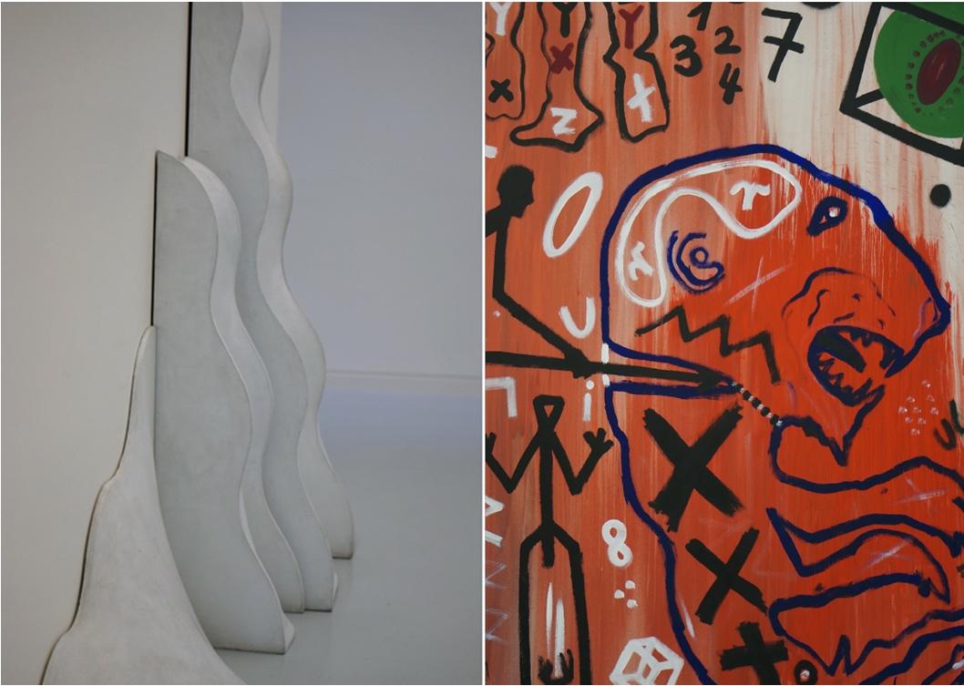 Strasbourg; musée d'art moderne; tigre rouge