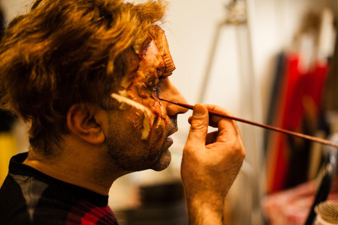 Yannick Doré, 6b, paris face cachée, maquillage de cinéma, maquillage zombie