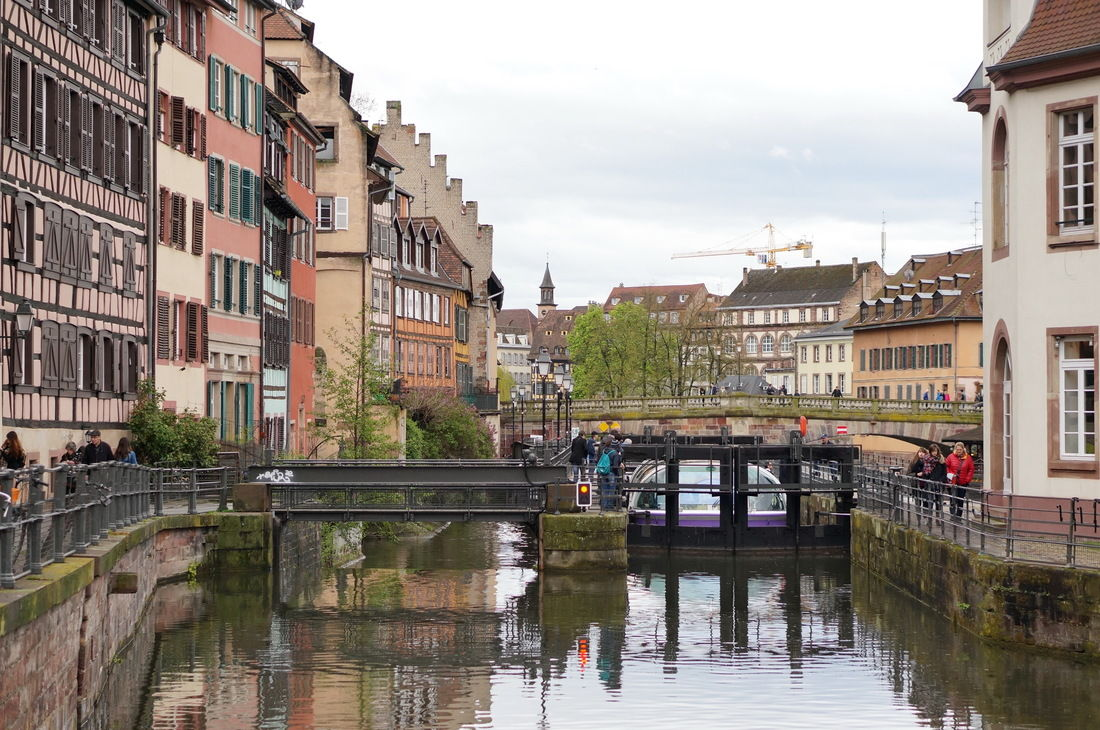strasbourg, ill, petite france