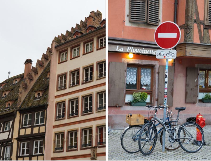strasbourg, vélos
