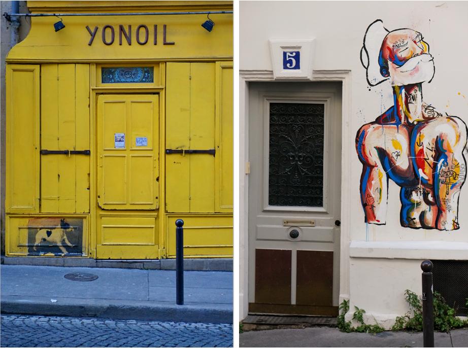 montmatre, montmartre street art