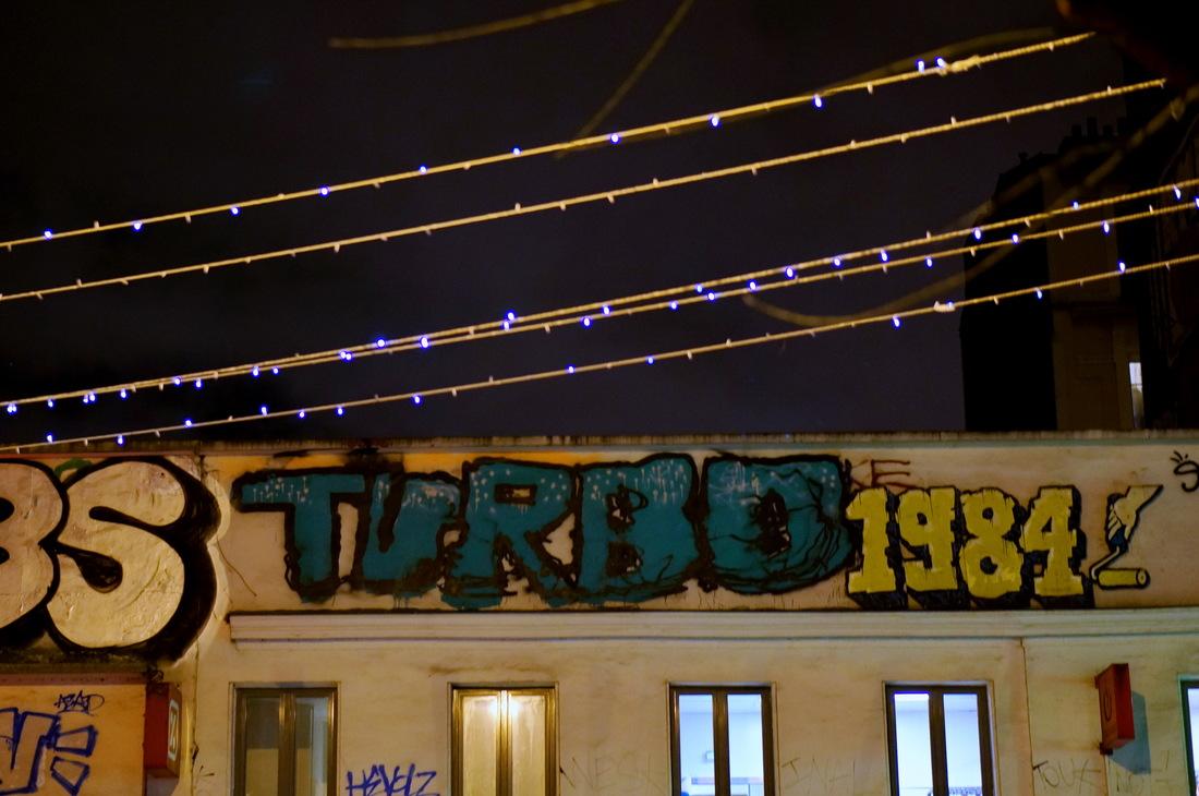 belleville, belleville la nuit, paris nuit, tag, graf, graffiti
