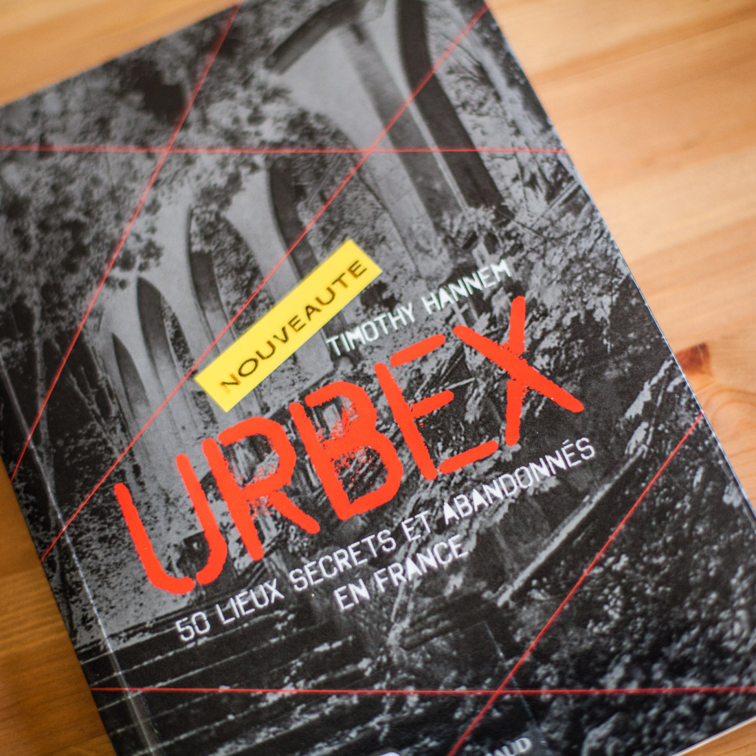 Urbex ; Livre ; couverture