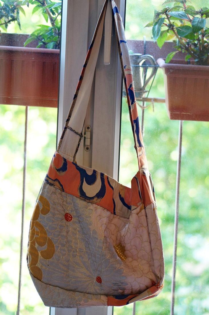 sac japonais, vide-grenier, brocante paris, brocante marais, japon, kimono