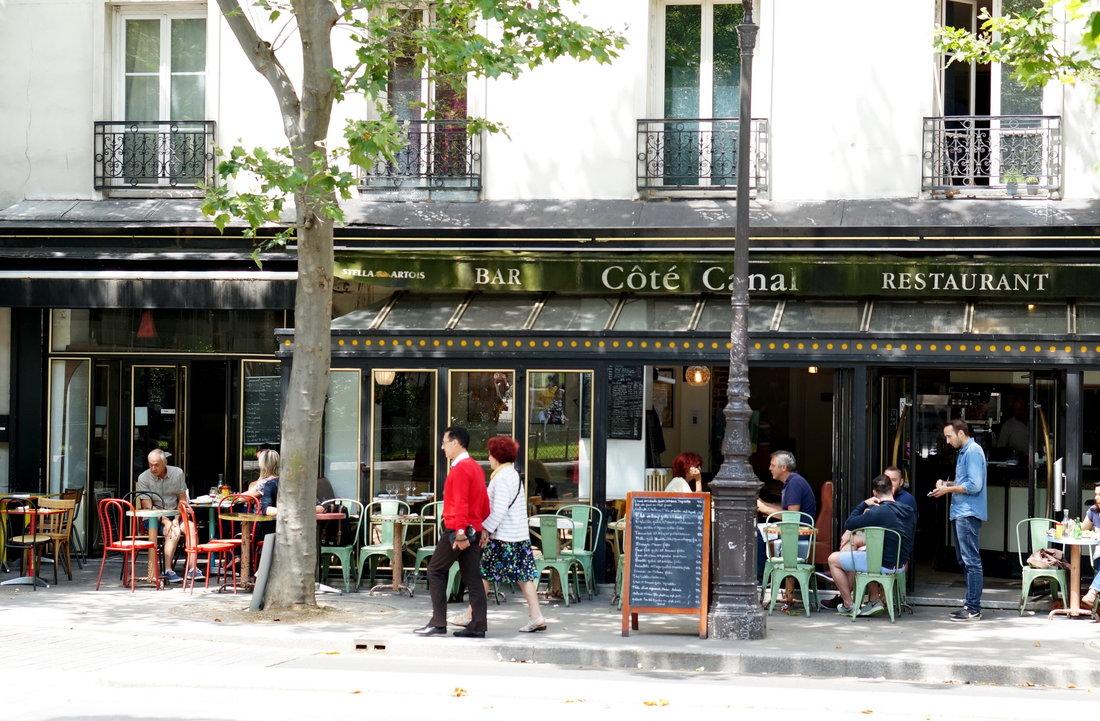 côté canal, restaurant, restaurant bassin villette, restaurant paris 19, restaurant côté canal, restaurant pas cher