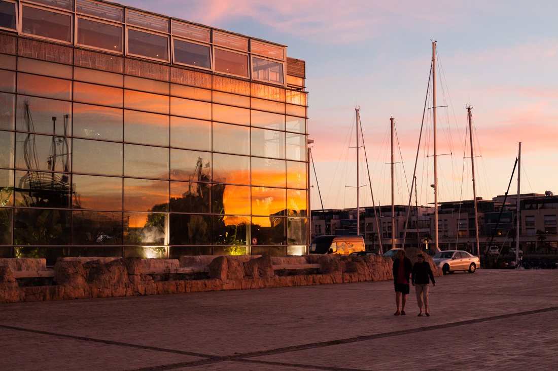 aquarium la rochelle, coucher de soleil, sunset, reflections, reflets