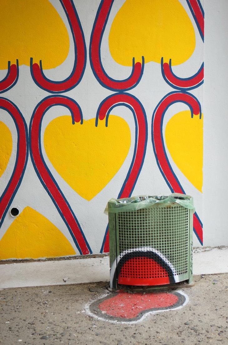 Julia Lopez, street art, street art avenue, saint-denis