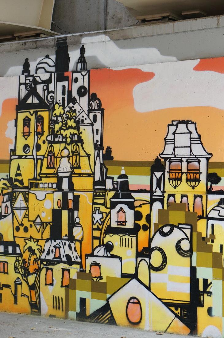 La gare du quai, Unavida Familia, street art, street art avenue, saint-denis