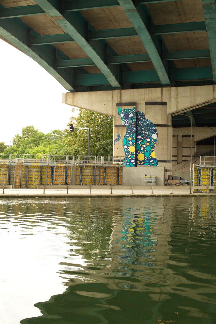 Alexandra Arango, street art, street art avenue, saint-denis