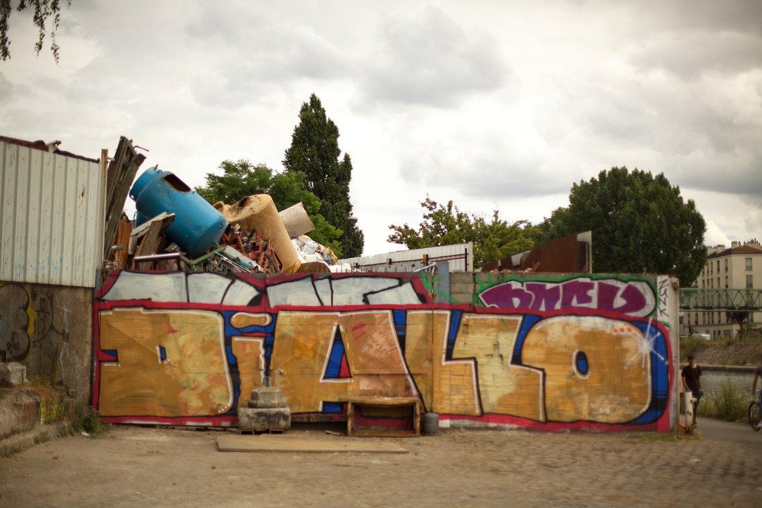 diallo, graffiti, street art, street art avenue, saint-denis, canal saint-denis