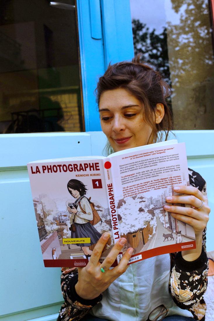 la photographe, kenichi kiriki, manga, manga tokyo