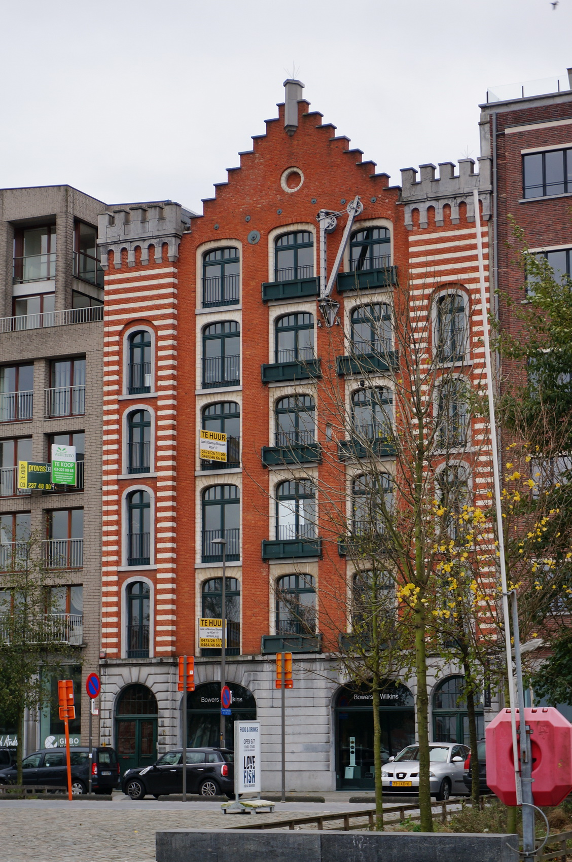 anvers, antwerp, antwerpen, quartier du mas, port, anvers industriel, architecture flamande