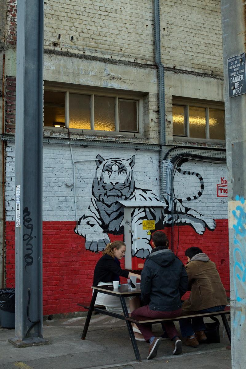 grand train, lieu éphémère paris, ground control, street art