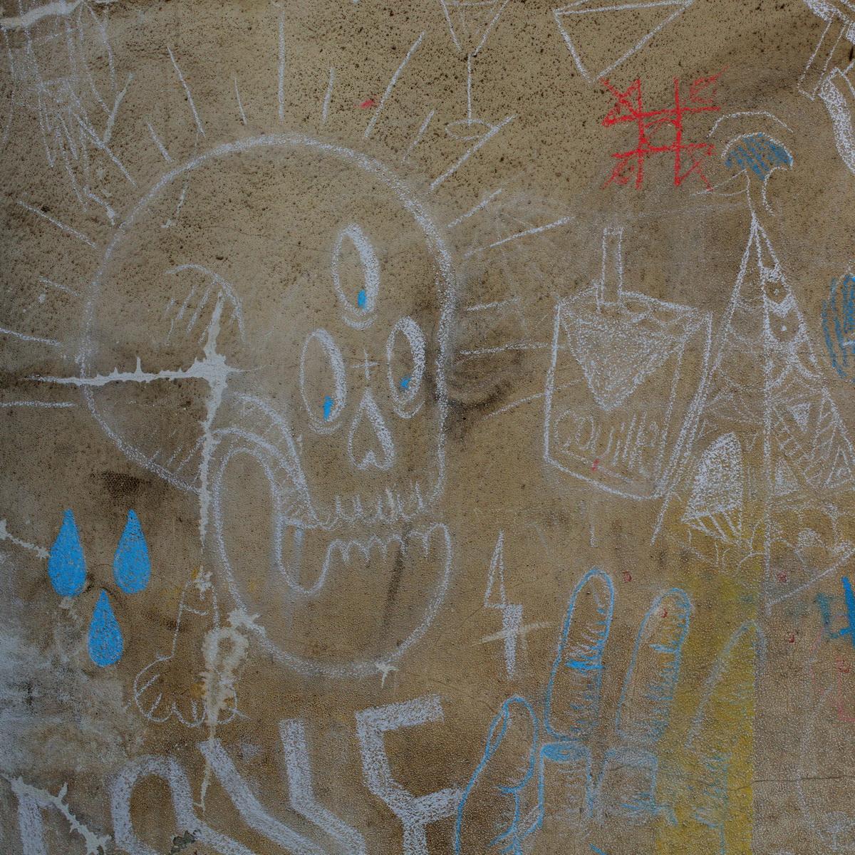 grand train, lieu éphémère paris, ground control, vanité, craie, street art craie