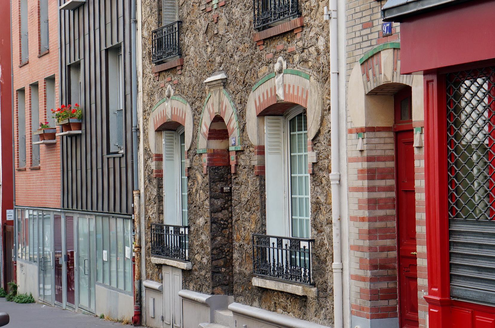 rue de buzenval, paris 20