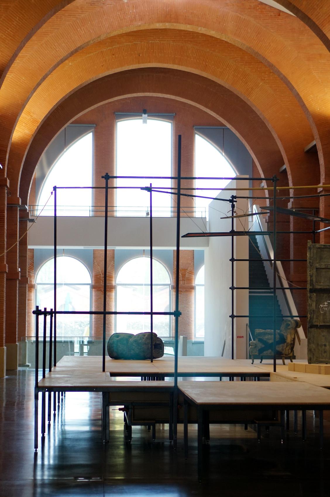 toulouse, tolosa, musée d'art moderne et contemporain toulouse, les abattoirs toulouse, musée des abattoirs toulouse, architecture toulouse