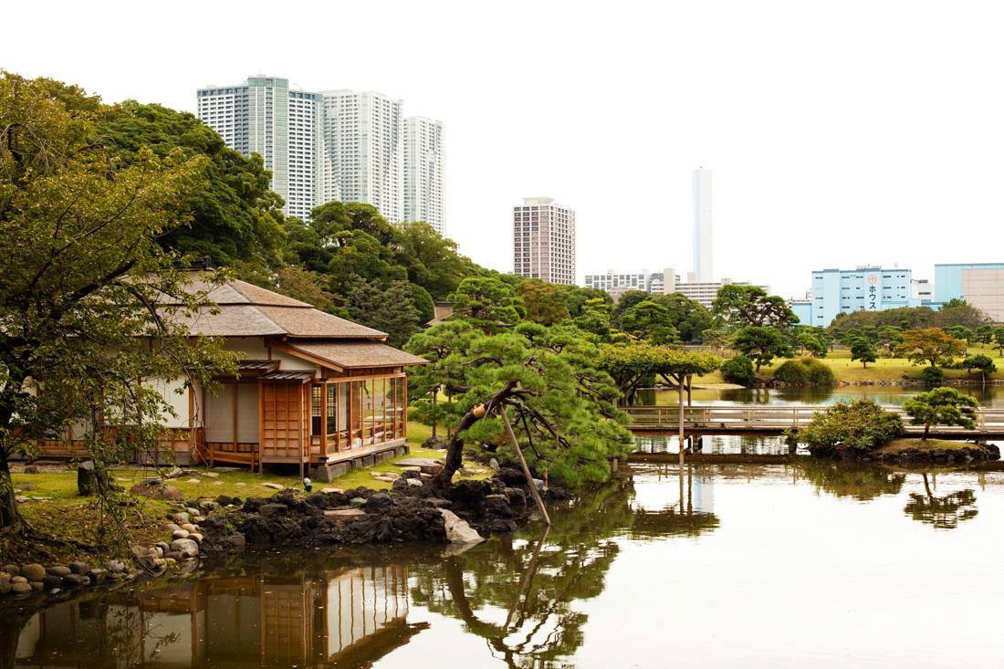 hama-rikyu gardens, jardin hama-rikyu, baie de tokyo, tsukiji, japon, voyage au japon, japan trip, tokyo, tokyo city guide, nakajima tea house, maison de thé tokyo