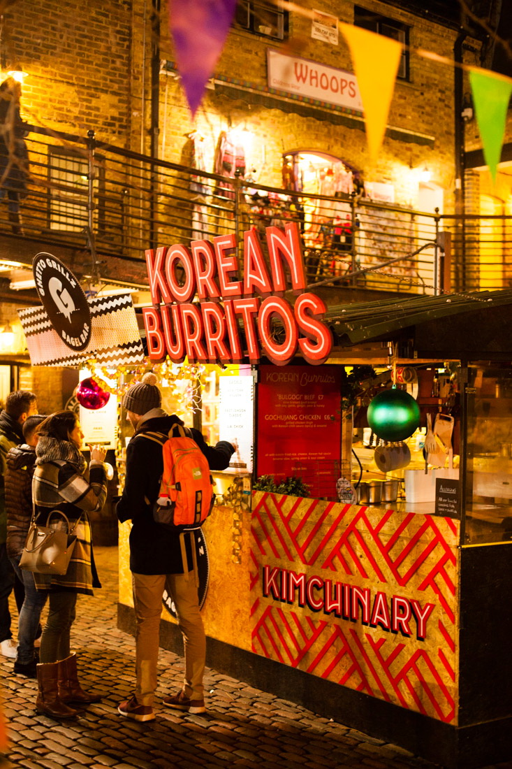 camden town, londres, london, london by night, londres de nuit, korrean burritos