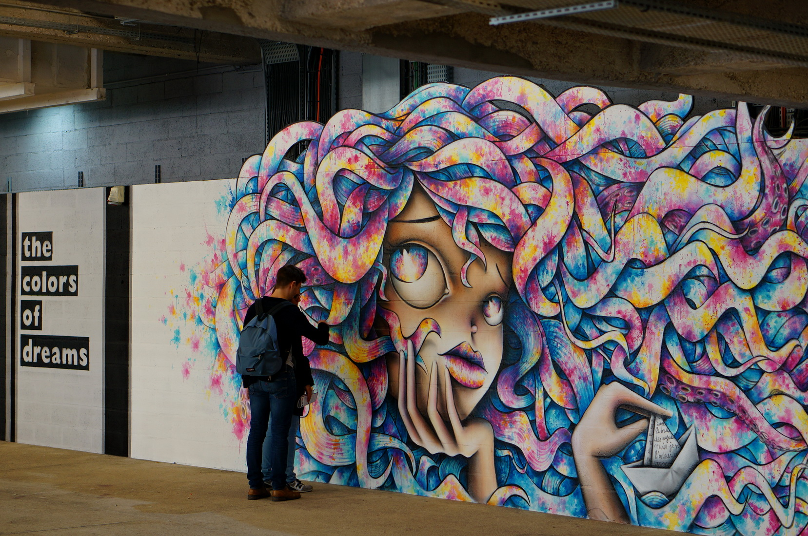 wanderlust, street art, street art paris, paris 13, art urbain paris