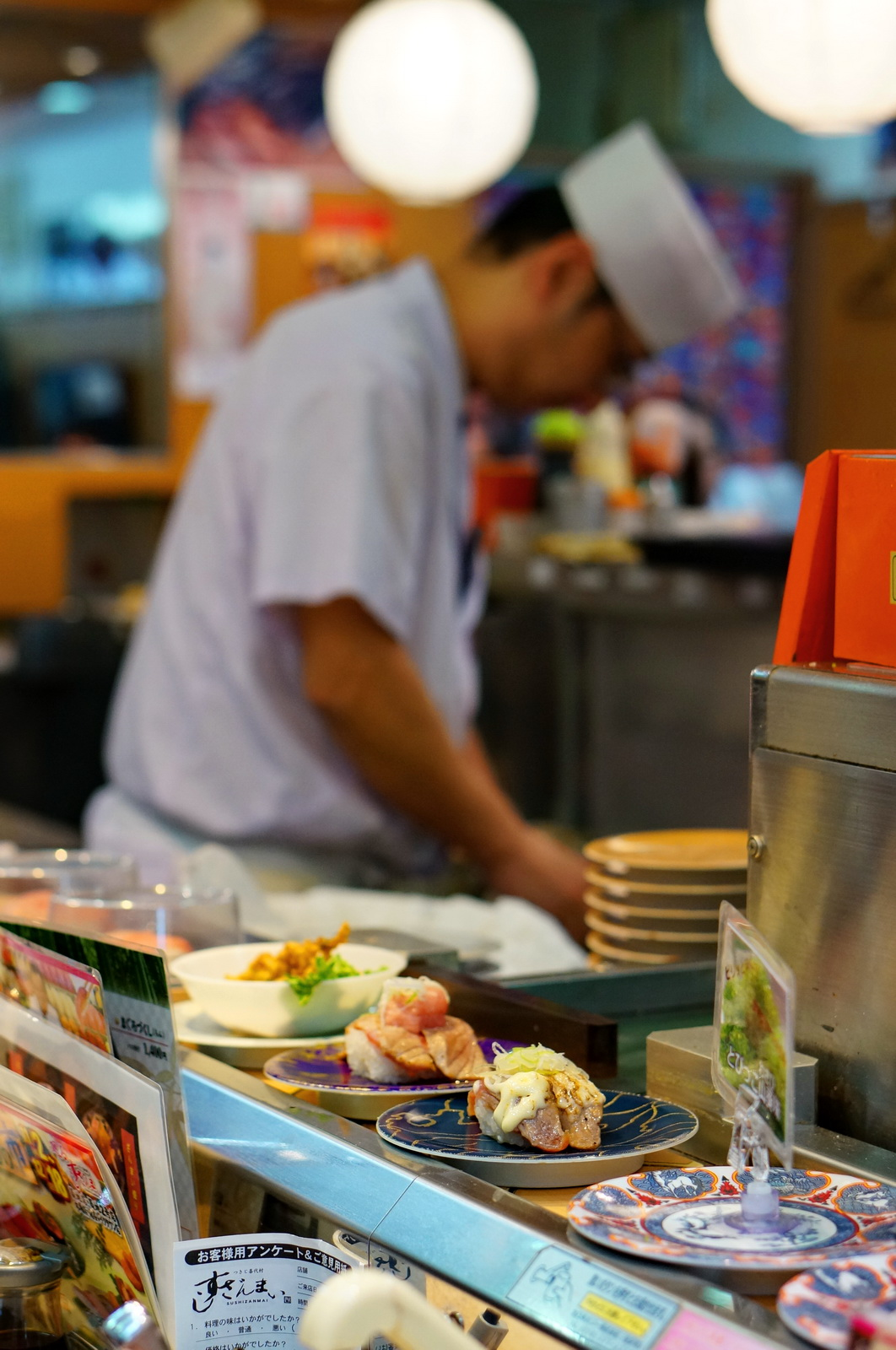 tokyo, restaurant de sushi