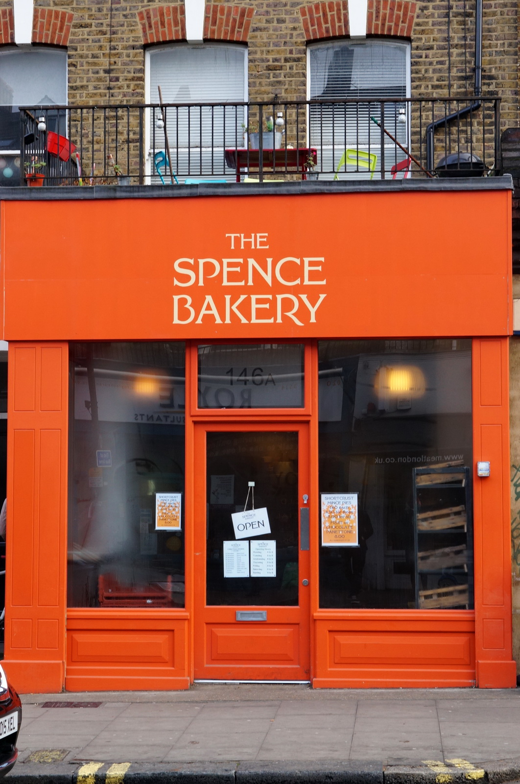 londres, london, kentish town, the spence bakery