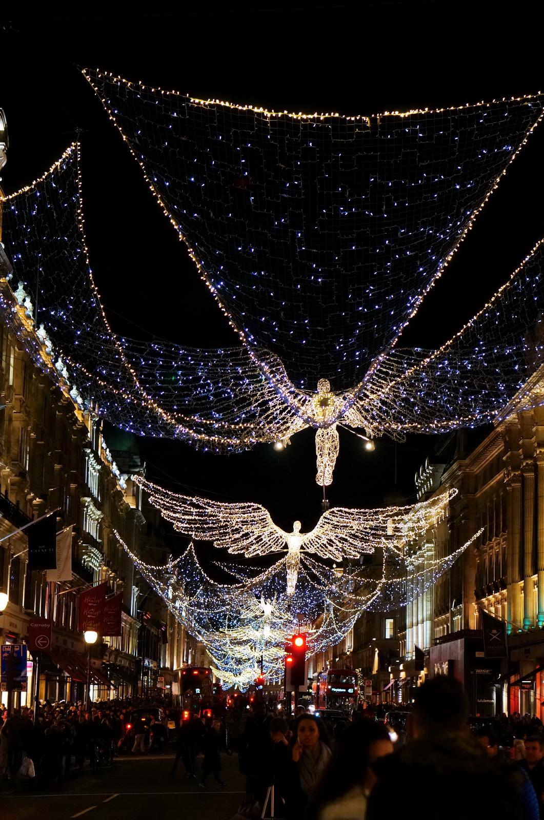 londres noël, illuminations noël, londres de nuit, london by night, londres féérique, décorations Noël Londres, london city guide, oxford street
