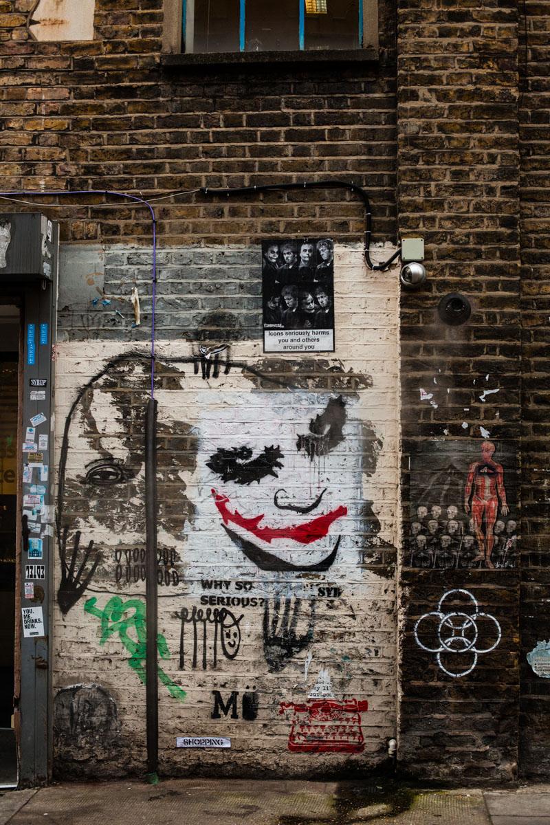 londres, london, shoreditch, street art london, street art londres, urban art london, art urbain londres, joker