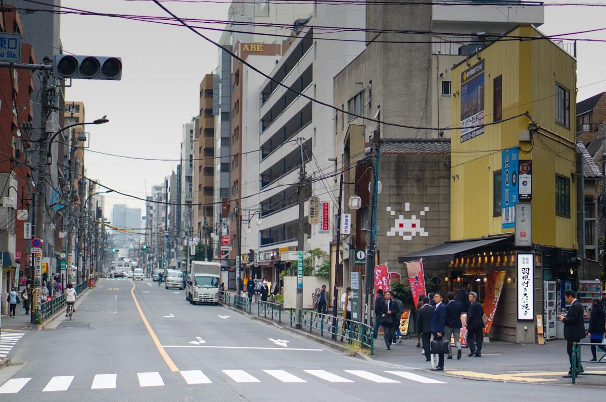 tokyo, tokyo city guide, tokyo trip, japan trip, voyage au japon, séjour japon, tourisme japon, ebisu, daikanyama, space invader tokyo, space invader japan, space invader japon, street art japon, street art tokyo