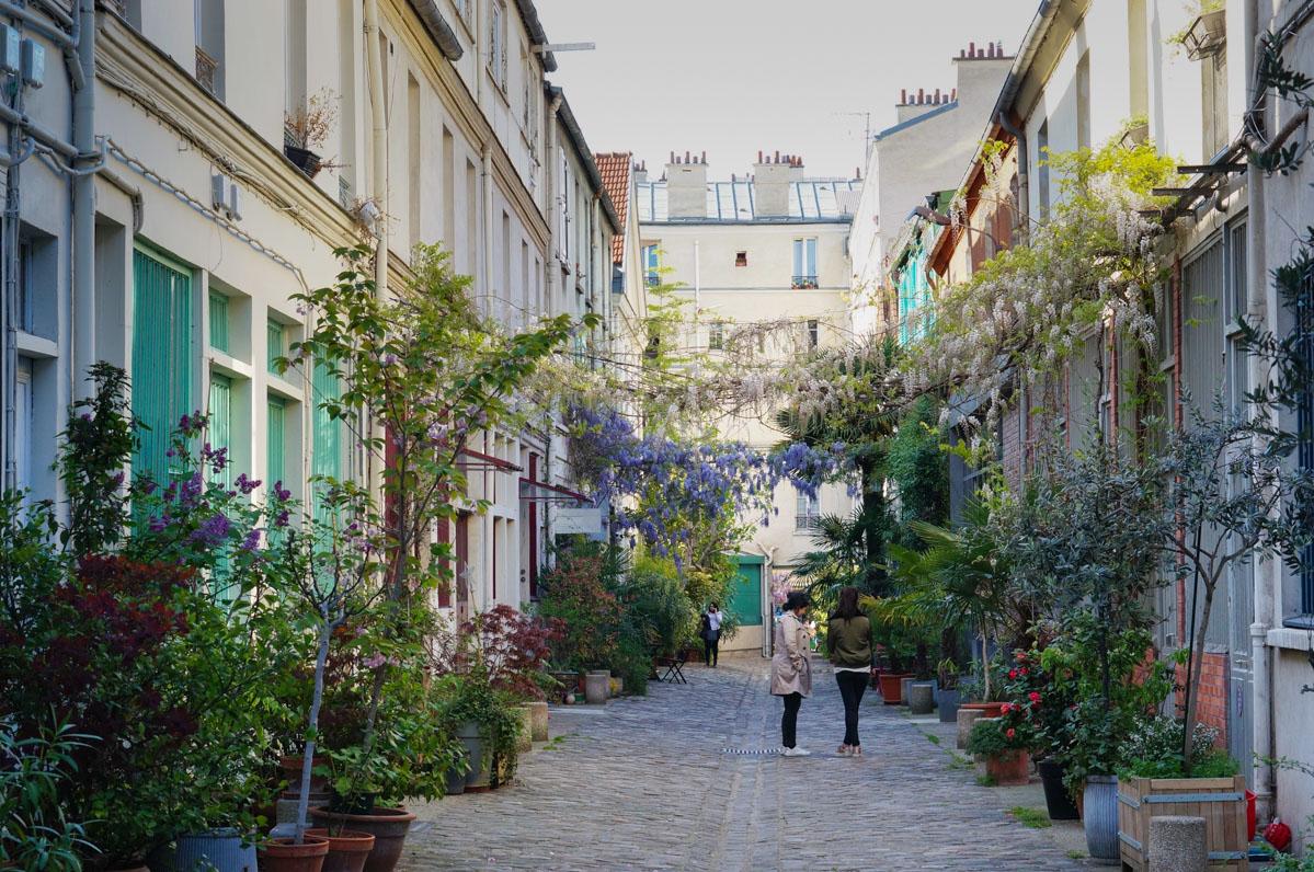 rue oberkampf, paris 11, paris 11e, impasse paris, impasse secrète paris, cour parisienne, paris vert, paris insolite, paris secret, paris caché, cité du figuier