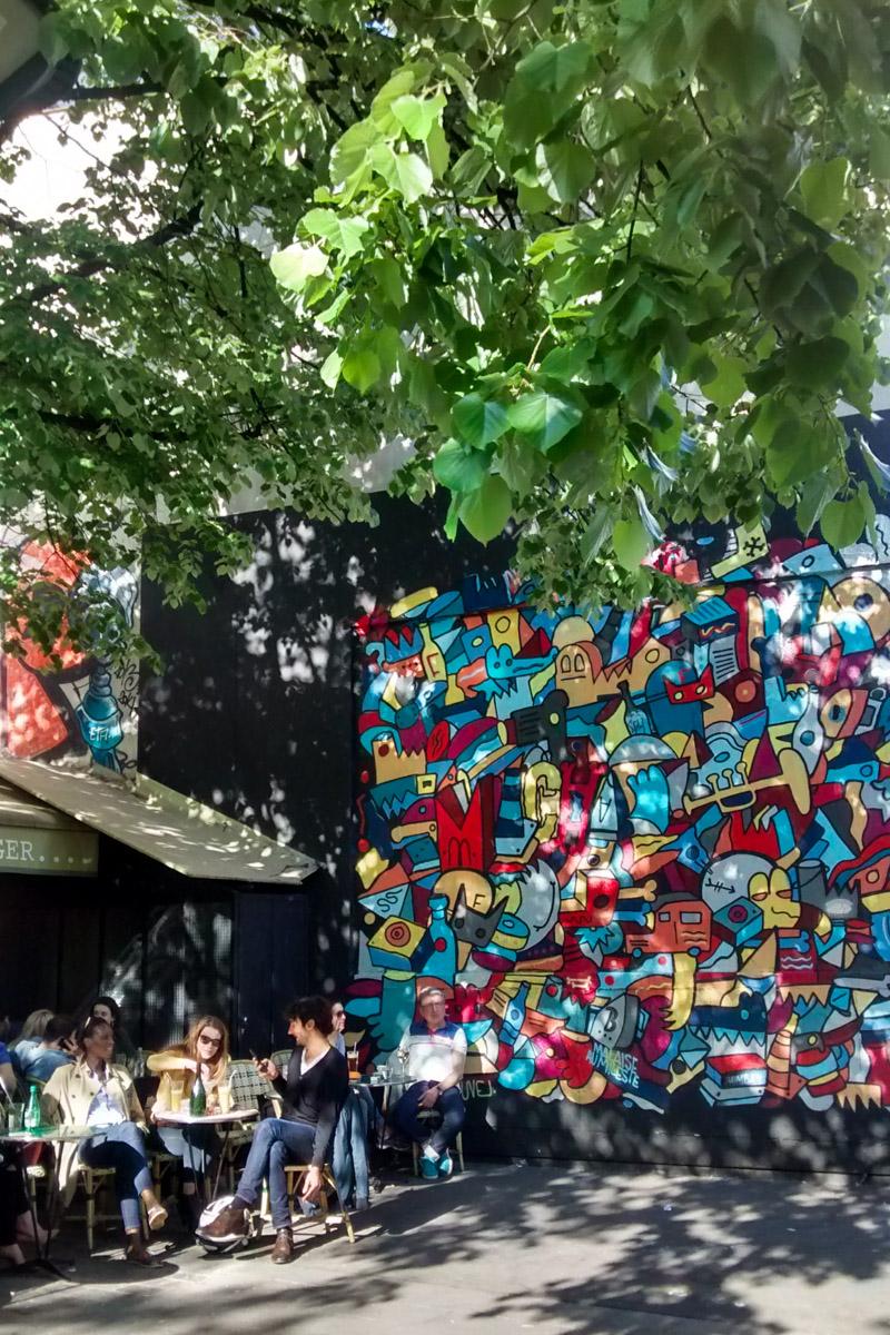 paris, paris 11, paris insolite, paris street art, paris urban art, paris wall art, paris graffiti, rue oberkampf