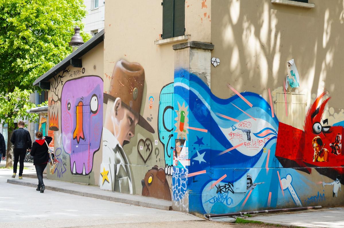 street art paris, paris art urbain, urban art, paris 19, quai de la loire