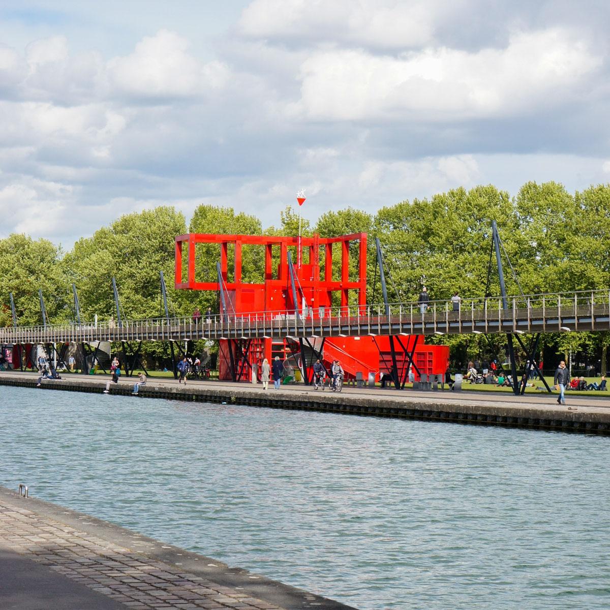 parc de la villette, espaces verts paris, paris 19, paris 19ème, parc paris, parc paris 19ème, péniche cinéma, quai de la marne