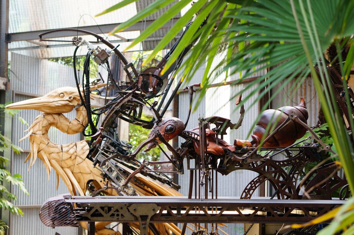 machines de l'île, nantes, machines de l'ile de nantes, héron nantes, fourmi nantes, fourmi mécanique