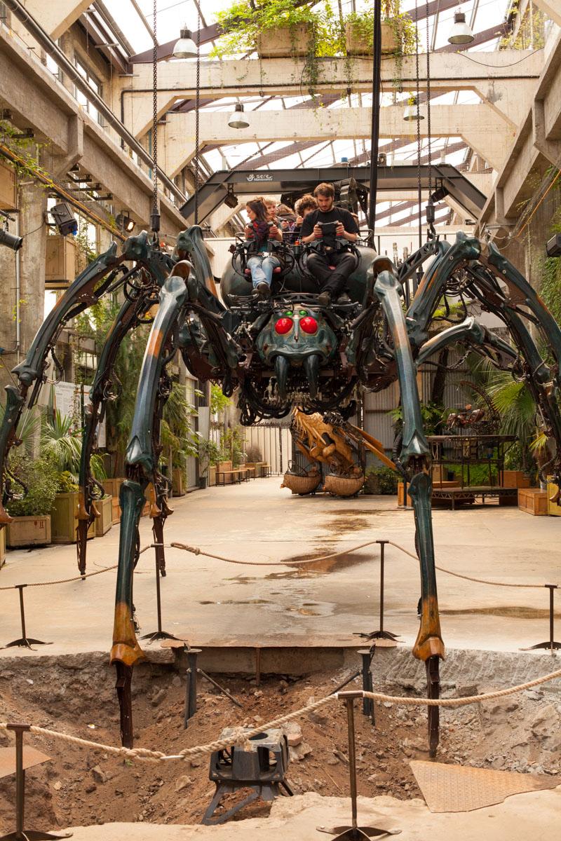 machines de l'île, nantes, machines de l'ile de nantes, araignée machines de l'île