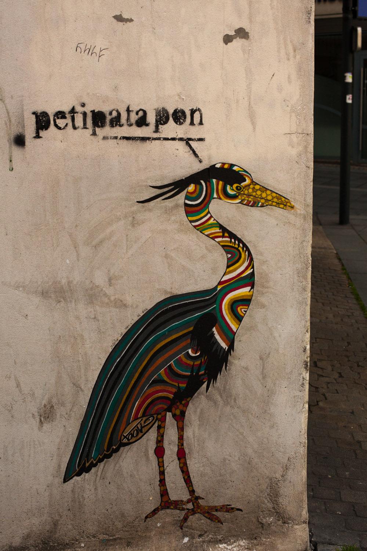 nantes héron, nantes street art