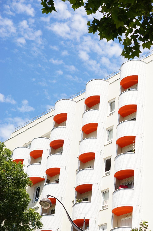 paris 19, 75019, architecture paris, immeuble parisien, années 70