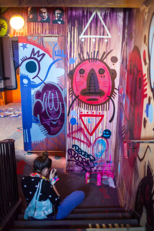 street art paris, street art paris 14, street art rehab 2, street art urban festival, street art résidence étudiante