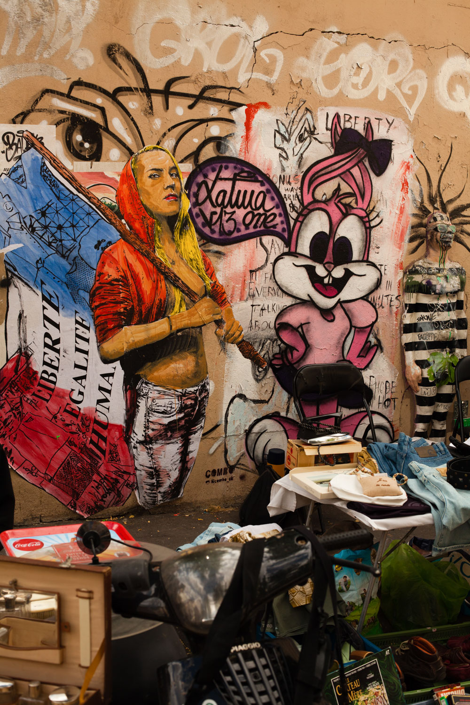 vide-grenier paris, vide-grenier butte aux cailles, vide-grenier 75013, brocante paris, puces paris, chiner à paris, street art paris