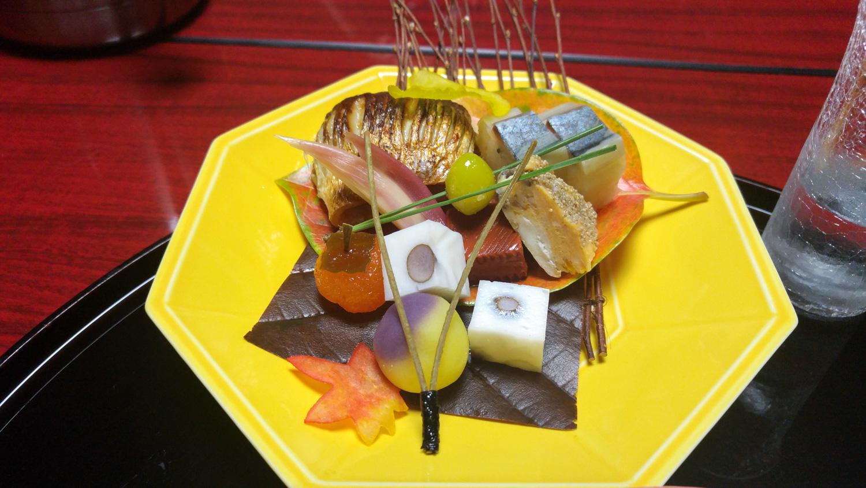 ryokan, ryokan repas, ryokan kankaso, kankaso inn, menu japonais ryokan, dîner ryokan