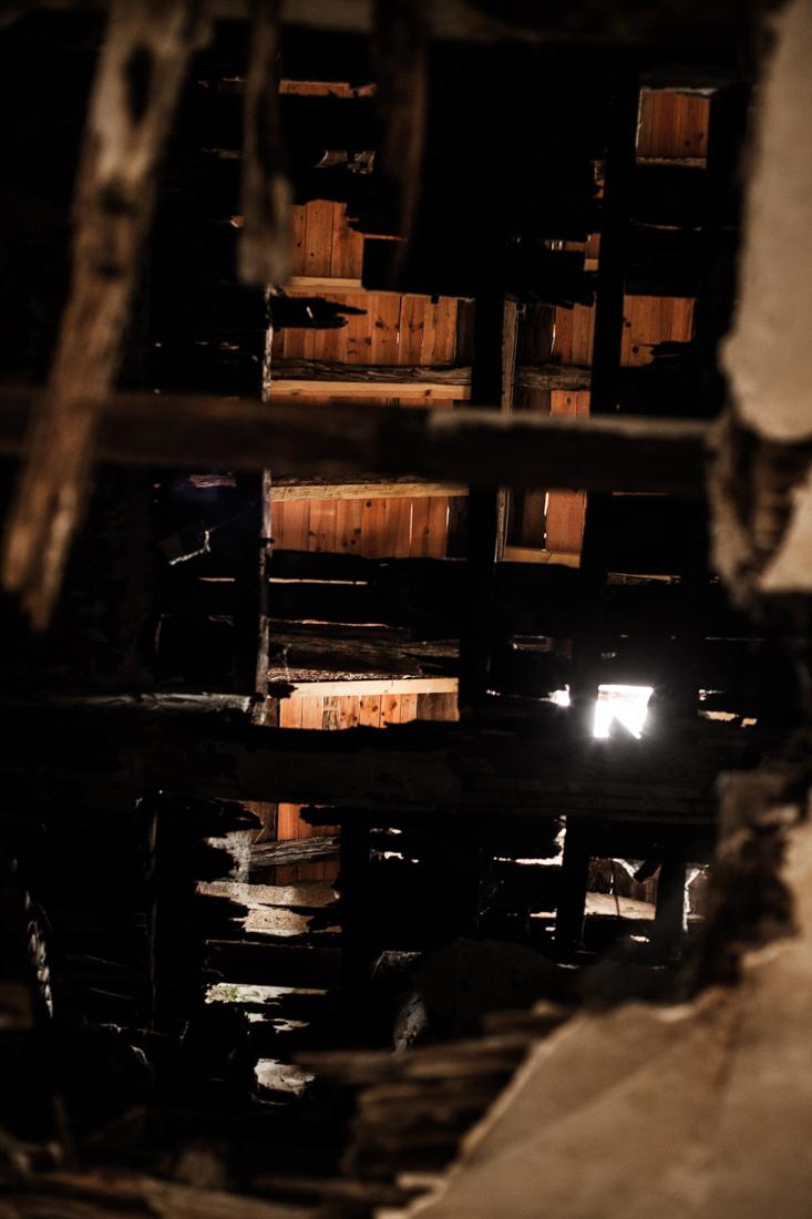 URBEX plafond danger