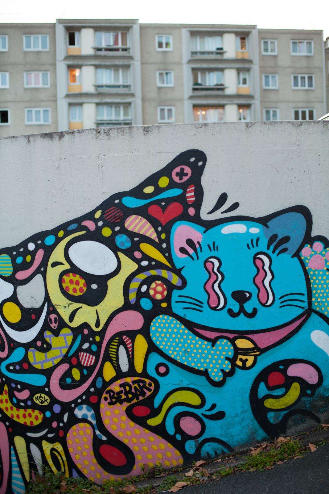 Lalasaïdko, bebar, street art vitry-sur-seine, street art vitry, street art val-de-marne, street art banlieue paris, art urbain vitry, art urbain vitry-sur-seine, art urbain vitry, le guide du street art à paris, stéphanie lombard