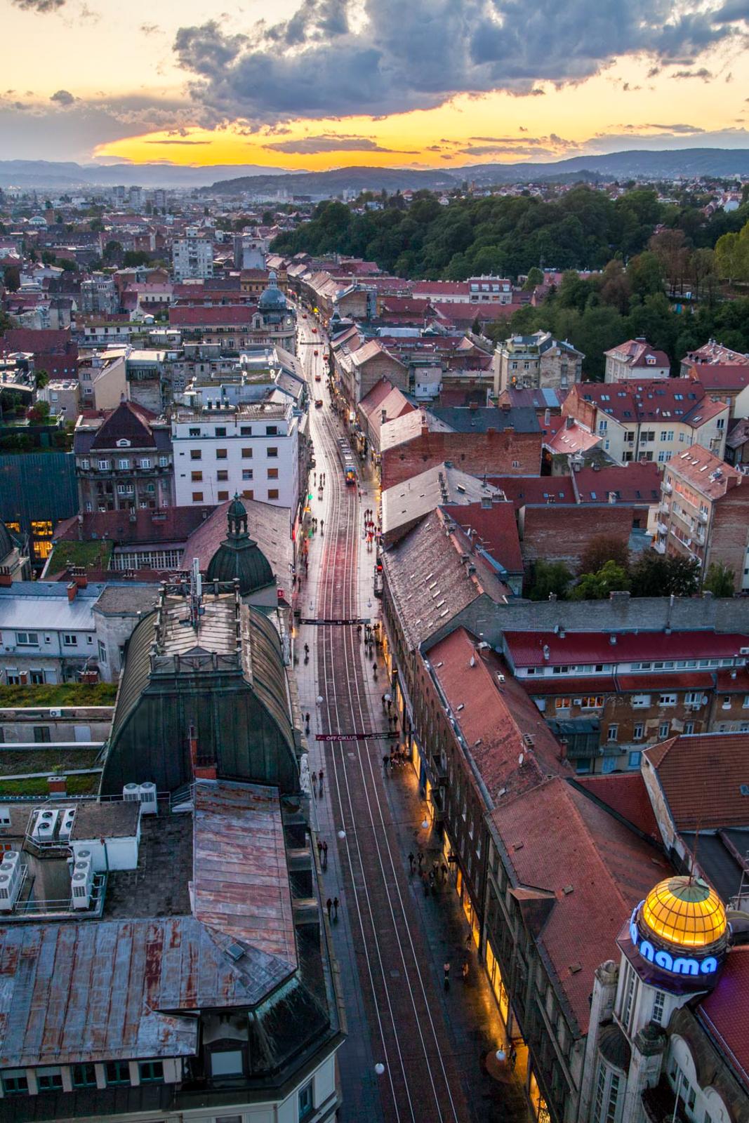 Croatie - Zagreb_