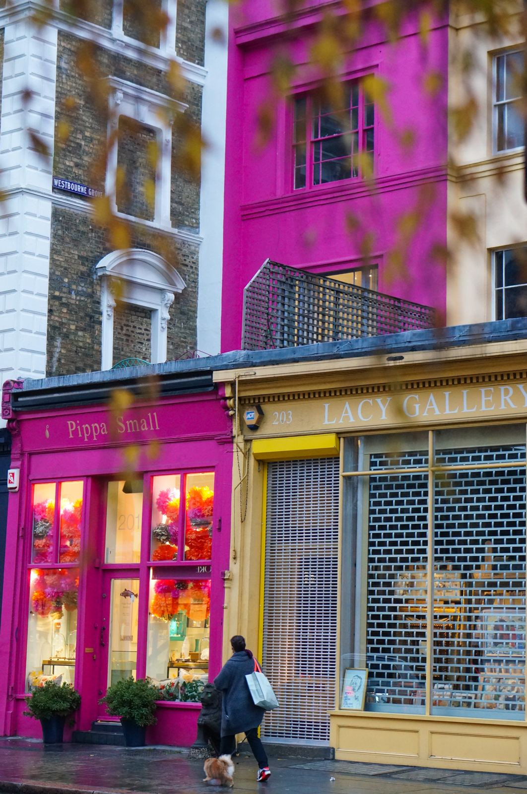 notting hill londres, notting hill london, notting hill hiver, idée balade hiver londres
