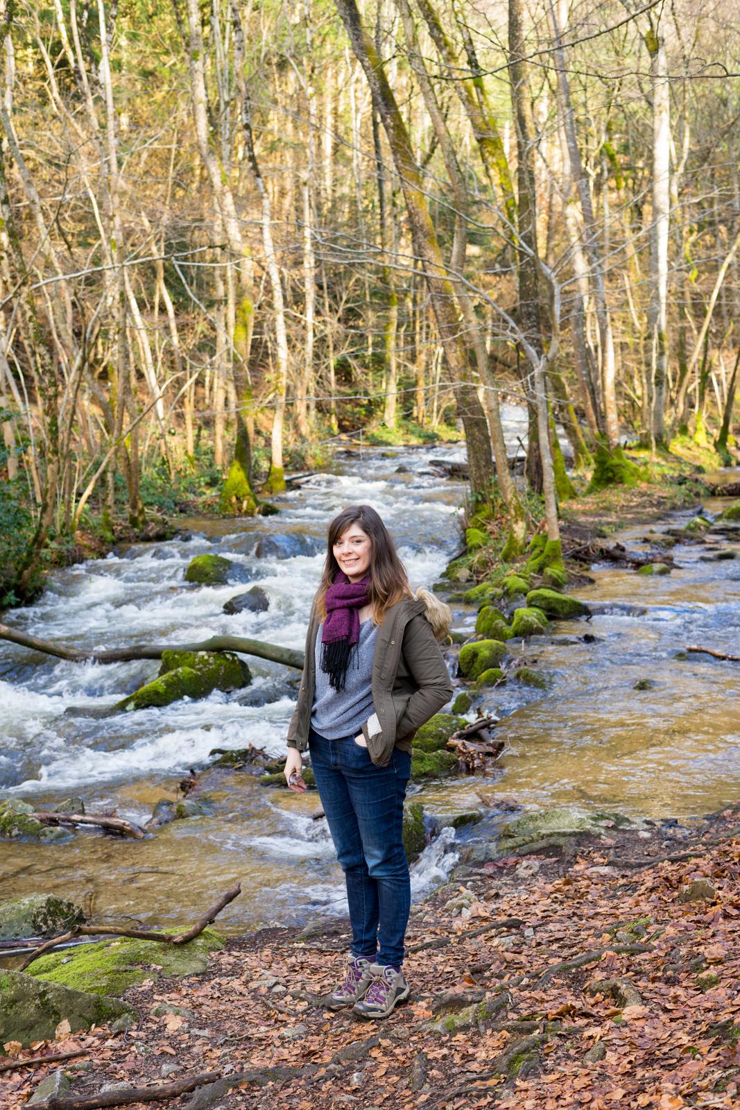 Cascade de la Pisserotte, cascade pisserote, allier hiver, balade cascade allier, balade cascade auvergne, idée balade allier