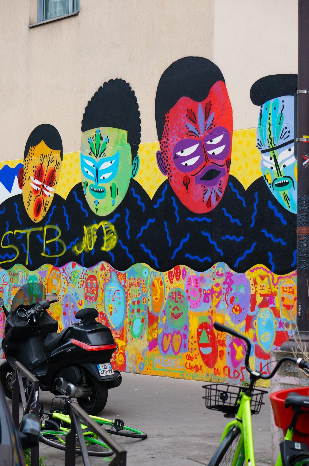 paris 20, balade paris 20, paris underground, paris alternatif, paris insolite, découvrir paris 20, que faire paris 20, balade originale paris 20, paris street art, street art paris 20, kashink
