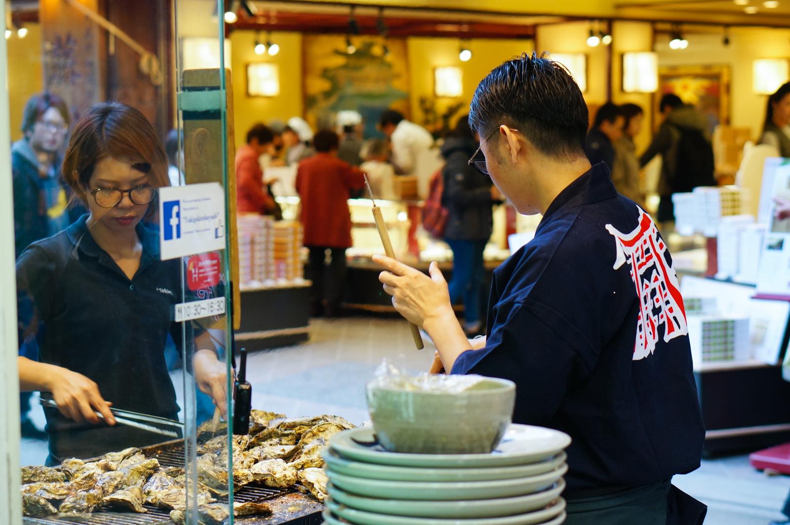 miyajima, voyage japon, huîtres japon, huîtres miyajima