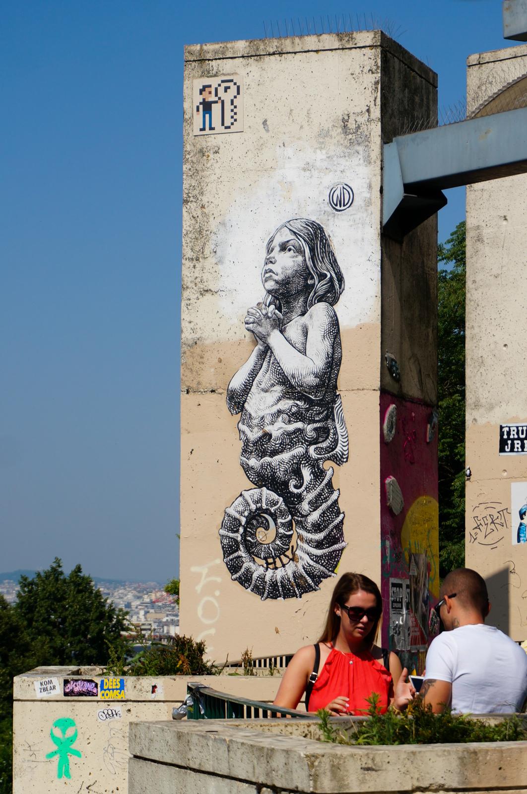 belleville, impasses secrètes paris, impasses paris 20, paris caché, paris secret, paris vert, paris village, paris différent, paris secret, paris street art, urban art paris, art urbain paris, graffitti paris