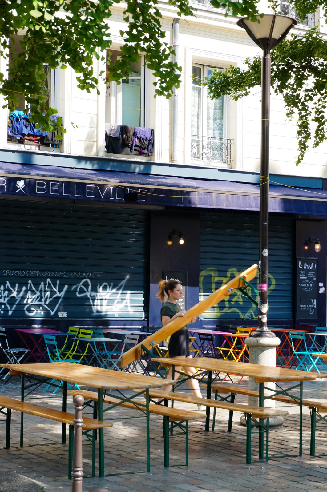 belleville, impasses secrètes paris, impasses paris 20, paris caché, paris secret, paris vert, paris village, paris différent, moncoeur belleville, terrasse belleville
